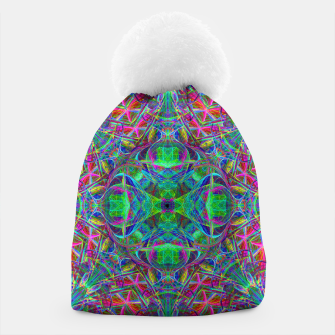Thumbnail image of Psychedelic Star Beanie, Live Heroes
