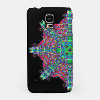 Miniatur Psychedelic Star Samsung Case, Live Heroes