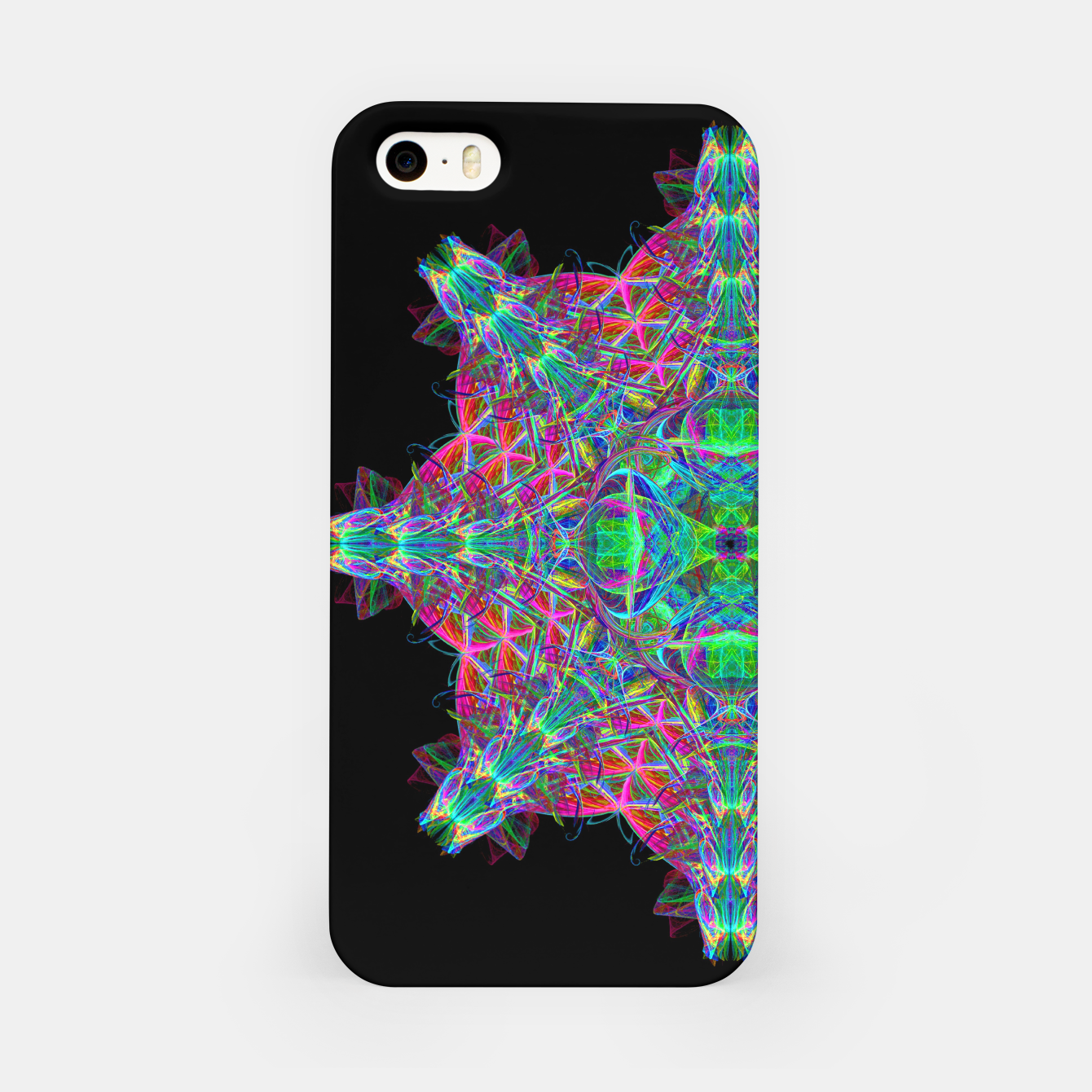Image of Psychedelic Star iPhone Case - Live Heroes