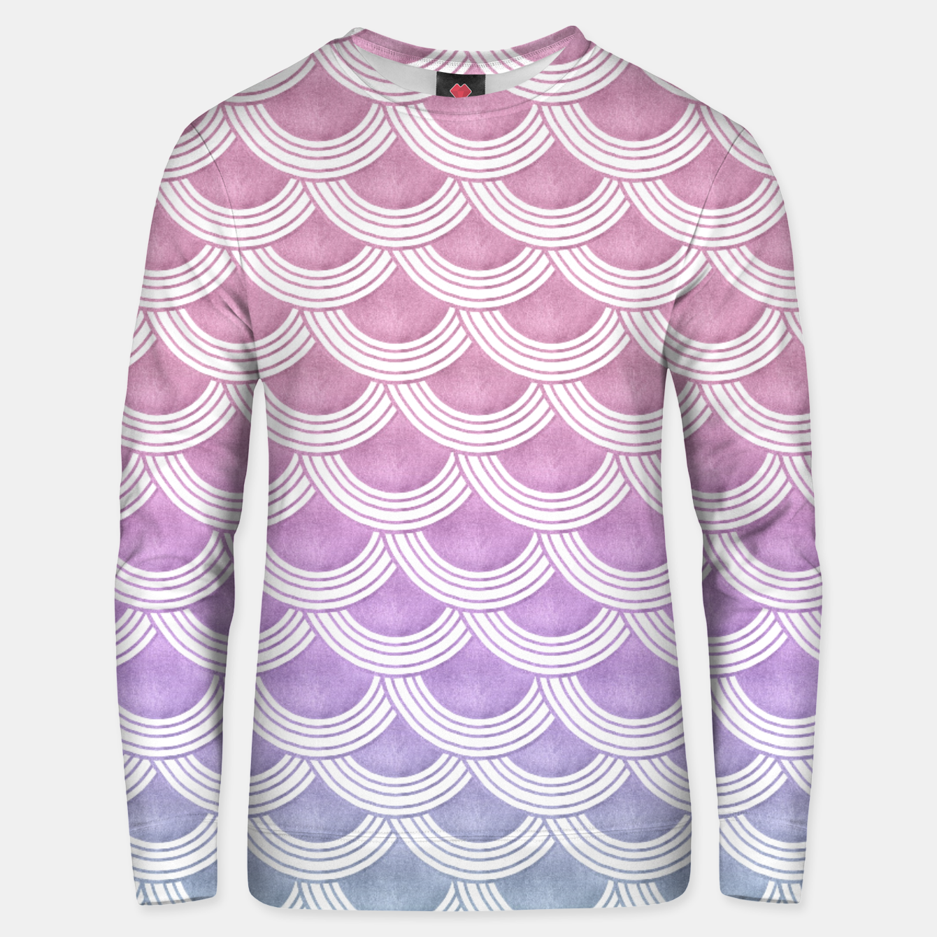 Image of Unicorn Pastel Mermaid Scales #1 #pastel #decor #art  Unisex sweatshirt - Live Heroes