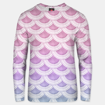 Unicorn Pastel Mermaid Scales #1 #pastel #decor #art  Unisex sweatshirt thumbnail image
