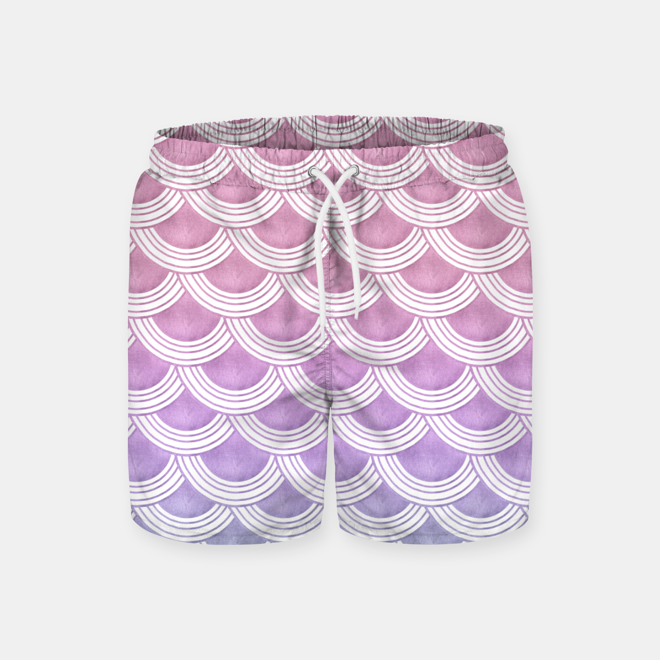 Image of Unicorn Pastel Mermaid Scales #1 #pastel #decor #art  Badeshorts - Live Heroes