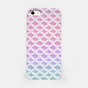 Miniature de image de Unicorn Pastel Mermaid Scales #1 #pastel #decor #art  iPhone-Hülle, Live Heroes