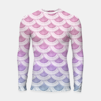 Unicorn Pastel Mermaid Scales #1 #pastel #decor #art  Longsleeve rashguard thumbnail image