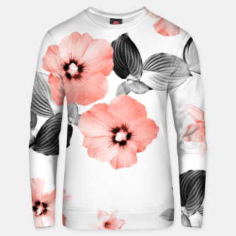Miniature de image de Living Coral Floral Dream #4 #flower #pattern #decor #art  Unisex sweatshirt, Live Heroes