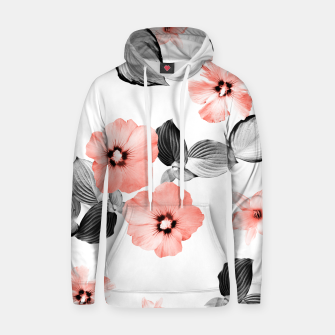 Miniature de image de Living Coral Floral Dream #4 #flower #pattern #decor #art  Kapuzenpullover, Live Heroes
