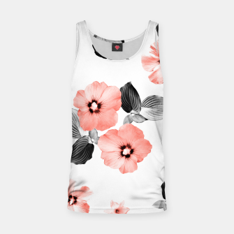 Miniature de image de Living Coral Floral Dream #4 #flower #pattern #decor #art  Muskelshirt , Live Heroes
