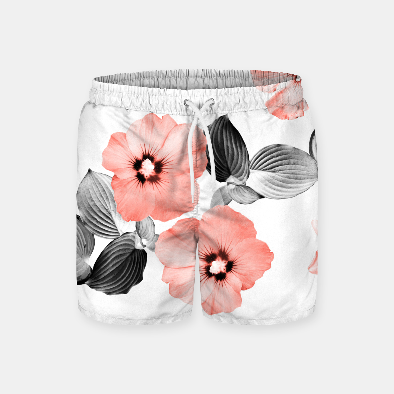 Image of Living Coral Floral Dream #4 #flower #pattern #decor #art  Badeshorts - Live Heroes
