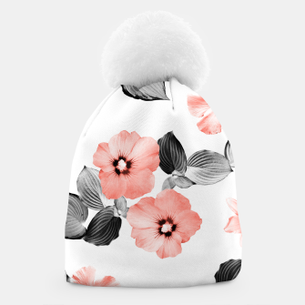Miniaturka Living Coral Floral Dream #4 #flower #pattern #decor #art  Mütze, Live Heroes