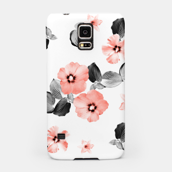 Miniaturka Living Coral Floral Dream #4 #flower #pattern #decor #art  Handyhülle für Samsung, Live Heroes