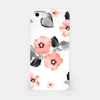 Miniature de image de Living Coral Floral Dream #4 #flower #pattern #decor #art  iPhone-Hülle, Live Heroes