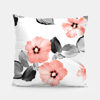 Miniaturka Living Coral Floral Dream #4 #flower #pattern #decor #art  Kissen, Live Heroes