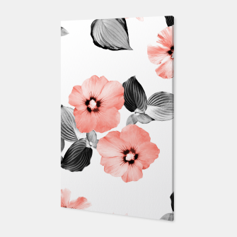 Miniature de image de Living Coral Floral Dream #4 #flower #pattern #decor #art  Canvas, Live Heroes