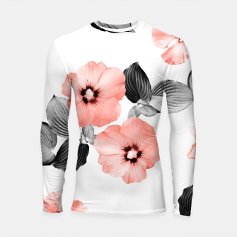 Miniature de image de Living Coral Floral Dream #4 #flower #pattern #decor #art  Longsleeve rashguard, Live Heroes