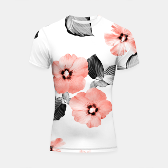 Miniature de image de Living Coral Floral Dream #4 #flower #pattern #decor #art  Shortsleeve rashguard, Live Heroes