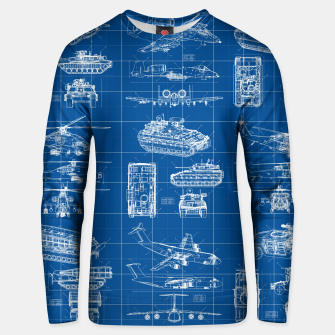 Thumbnail image of Classified Unisex sweater, Live Heroes