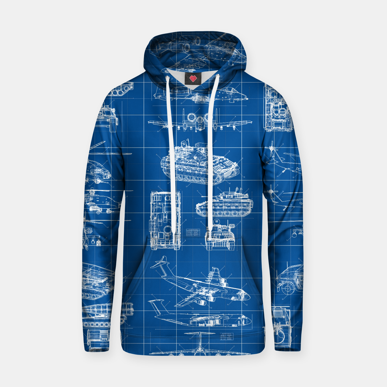 Image of Classified Hoodie - Live Heroes