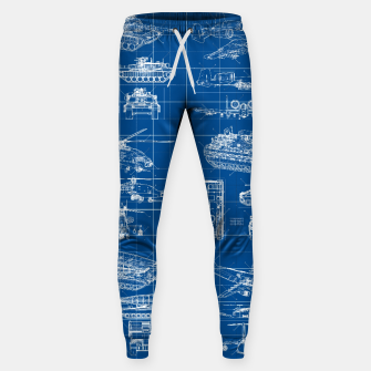 Miniatur Classified Sweatpants, Live Heroes