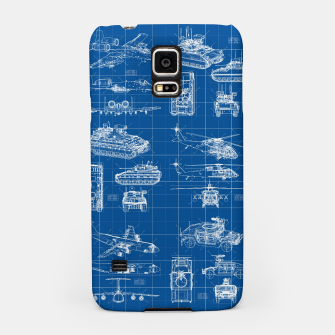 Miniatur Classified Samsung Case, Live Heroes