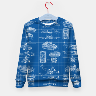 Miniatur Classified Kid's sweater, Live Heroes