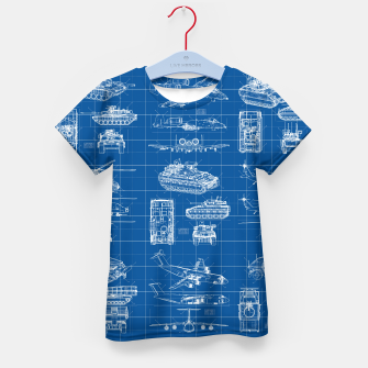 Thumbnail image of Classified Kid's t-shirt, Live Heroes