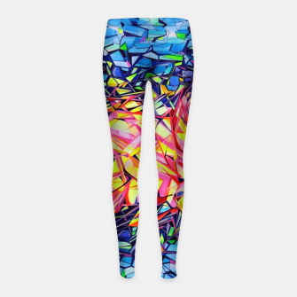 Thumbnail image of The Door Project  Girl's leggings, Live Heroes