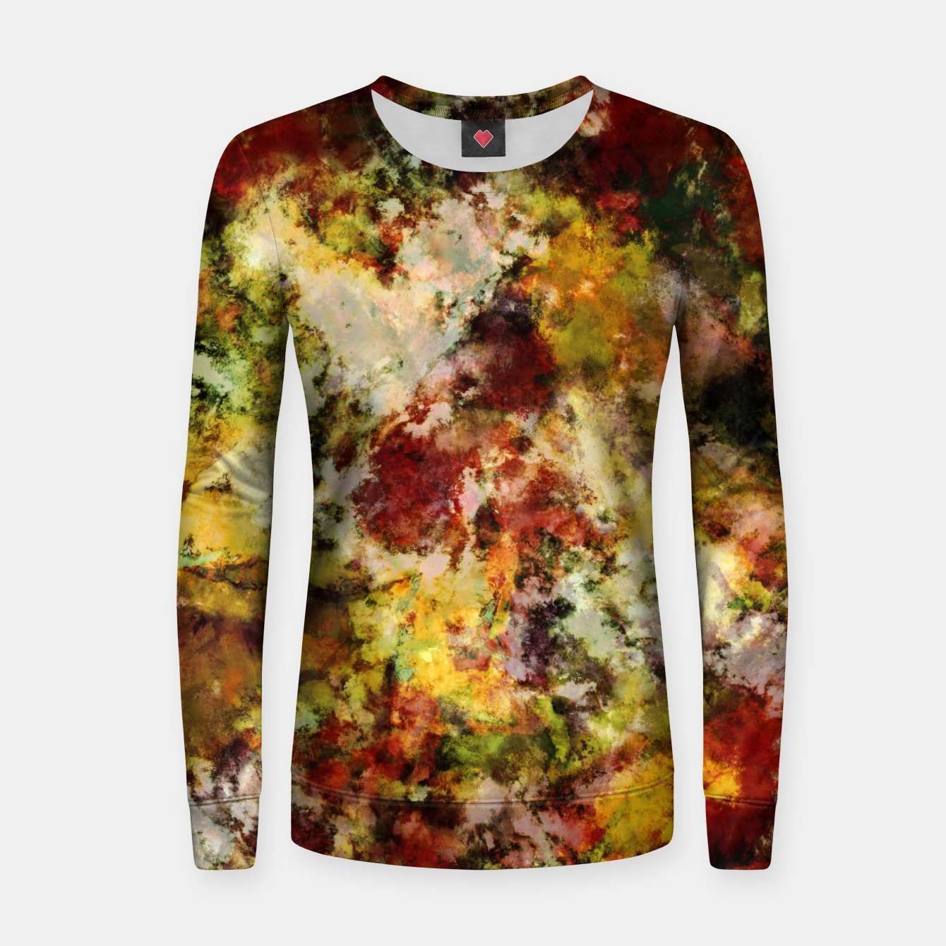Image of Push Women sweater - Live Heroes