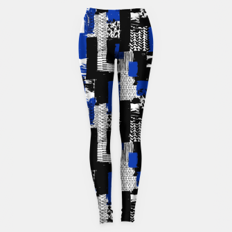 Modern Artistic Abstract Leggings thumbnail image