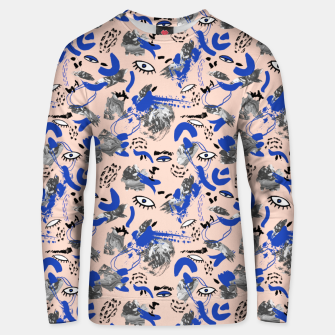 Thumbnail image of Abstract tribal brushstrokes Sudadera unisex, Live Heroes