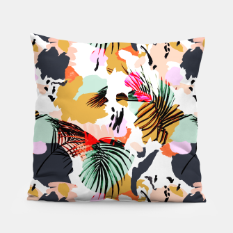 Miniature de image de Tropical abstract colorful  Almohada, Live Heroes