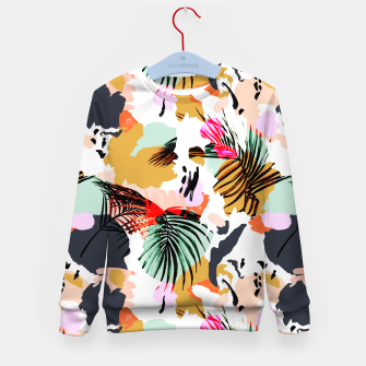 Thumbnail image of Tropical abstract colorful  Sudadera para niños, Live Heroes