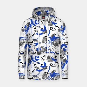 Thumbnail image of Abstract tribal brushstrokes II Sudadera con capucha, Live Heroes