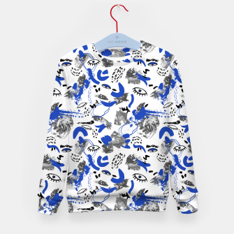 Thumbnail image of Abstract tribal brushstrokes II Sudadera para niños, Live Heroes