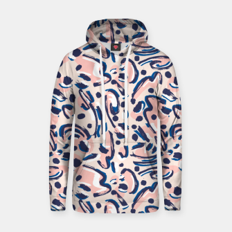 Miniaturka Modern brushstrokes pink Sudadera con capucha, Live Heroes