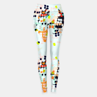 Thumbnail image of Brush points II Leggings, Live Heroes