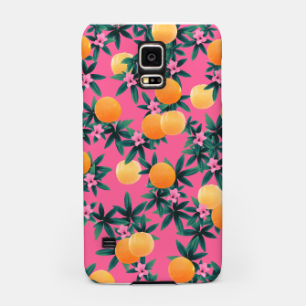Miniature de image de Orange Twist Flower Vibes #1 #tropical #fruit #decor #art Handyhülle für Samsung, Live Heroes
