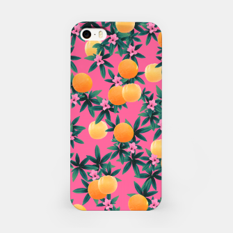 Miniaturka Orange Twist Flower Vibes #1 #tropical #fruit #decor #art iPhone-Hülle, Live Heroes