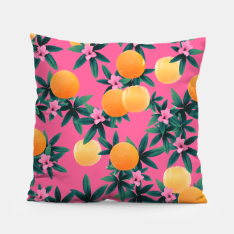 Miniature de image de Orange Twist Flower Vibes #1 #tropical #fruit #decor #art Kissen, Live Heroes