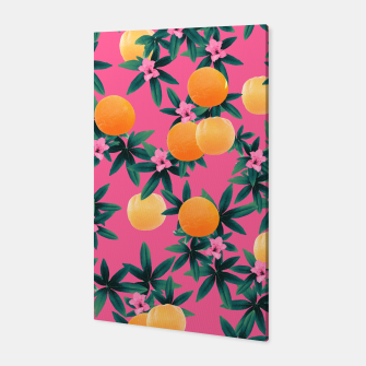 Miniaturka Orange Twist Flower Vibes #1 #tropical #fruit #decor #art Canvas, Live Heroes