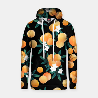 Miniaturka Orange Twist Flower Night Vibes #1 #tropical #fruit #decor #art Kapuzenpullover, Live Heroes