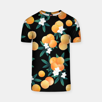 Miniaturka Orange Twist Flower Night Vibes #1 #tropical #fruit #decor #art T-Shirt, Live Heroes