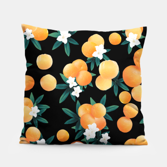 Miniaturka Orange Twist Flower Night Vibes #1 #tropical #fruit #decor #art Kissen, Live Heroes