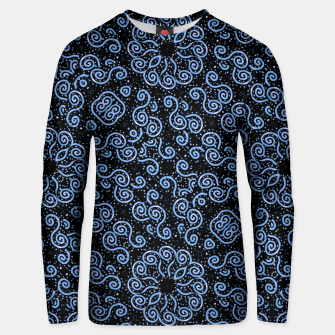 Miniaturka Spirals and Dots Motif Ornate Print Unisex sweater, Live Heroes