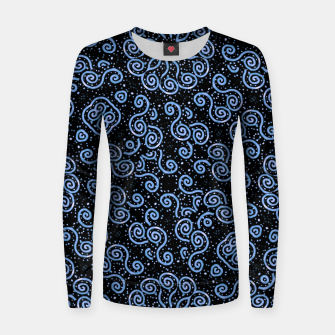 Miniaturka Spirals and Dots Motif Ornate Print Women sweater, Live Heroes