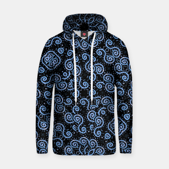 Miniatur Spirals and Dots Motif Ornate Print Hoodie, Live Heroes