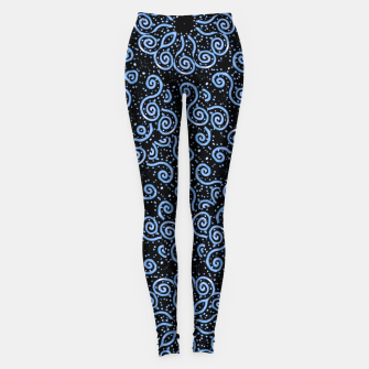 Miniaturka Spirals and Dots Motif Ornate Print Leggings, Live Heroes