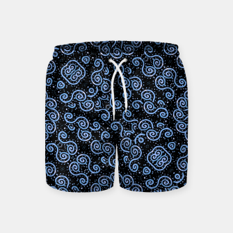 Miniaturka Spirals and Dots Motif Ornate Print Swim Shorts, Live Heroes