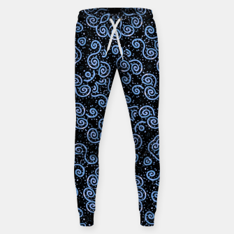 Miniaturka Spirals and Dots Motif Ornate Print Sweatpants, Live Heroes