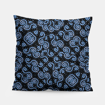 Miniaturka Spirals and Dots Motif Ornate Print Pillow, Live Heroes