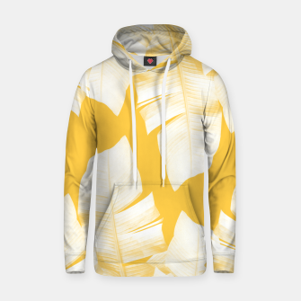 Miniaturka Tropical Yellow Banana Leaves Vibes #1 #decor #art  Kapuzenpullover, Live Heroes